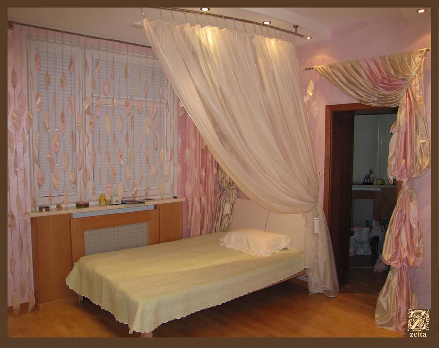 Как сделать шторы для спальни